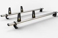 Volkswagen VW Caddy Van 2 Bar Aluminium Roof Bars Sept 2010 Onwards VG294-2