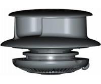 Flettner TCX-2 Rotary Van Wind Driven Roof Vent Standard Base Black